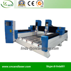 Gravestone Engraving Machine/Stone CNC Router/Stone Engraver pictures & photos