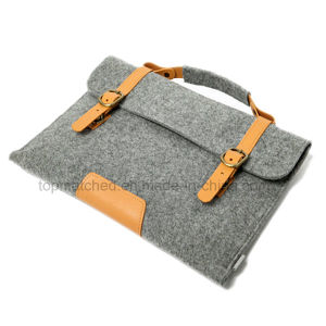 Leather Case for iPad PRO 12.9′′ Hot Sale Wool Felt Tablet Case Sleeve for iPad PRO pictures & photos
