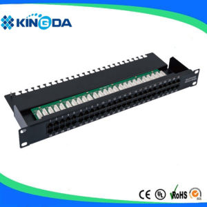 2U Telephone patch panel 50 ports pictures & photos