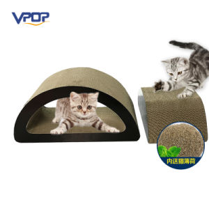 Custom Made Cat Scratching and Playing Toy Cat Scratcher Wholesale pictures & photos