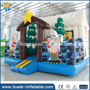 Hot Sale Inflatable Christmas Bouncer with Gifts for Sale pictures & photos