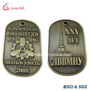 Hot Sale Custom Logo Dog Tag with Plastic Case pictures & photos