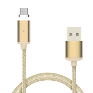 Magnetic USB Cable with Type C/ Lightning /Micro Three Male Insert Ports for All Phone pictures & photos