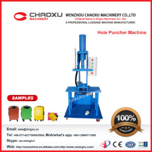 PC Luggage Hole Punching Machine pictures & photos