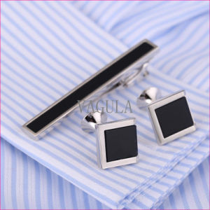 VAGULA Business De Corbata Onyx Tie Bar Agate Tie Pin Gift Tie Clip 35 pictures & photos