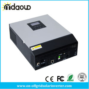 Mps Series 1kVA to 5kVA 24V 48V DC to 220V AC Pure Sine Wave Hybrid Inverter with MPPT Controller Inside pictures & photos