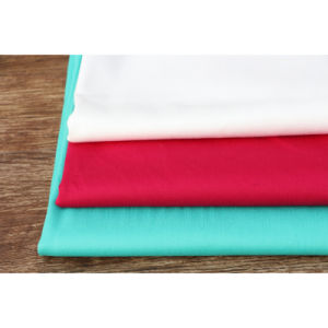 Woven Plain Dyed Spandex Cotton Twill Fabric for Shirt pictures & photos