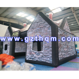 Fashion Inflatable Camping Tent House/Full Printing 9X6X5m Inflatable Pub Tent pictures & photos