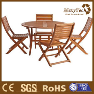 Modern Designs PS Wood Table and Chairs Garden Furniture Sets pictures & photos