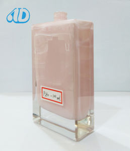 Ad-P189 Square Glass Perfume Bottle Inside Lacquering Polished pictures & photos