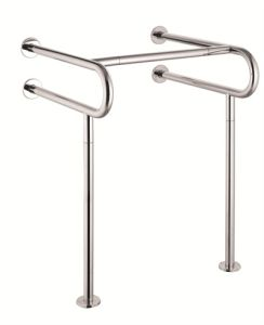 Fs-140 Toilet Safety Rails Stainless Steel Handrails Bath Grab Bar pictures & photos
