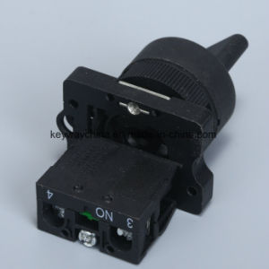Keyway Rotary Push Button Switch pictures & photos