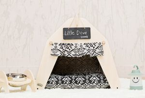 Canvas Pet Cat Dog Tipi Tent Pet Teepee Tent pictures & photos