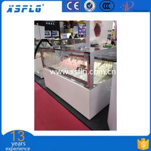 Popsice Ice Cream Display Freezer pictures & photos
