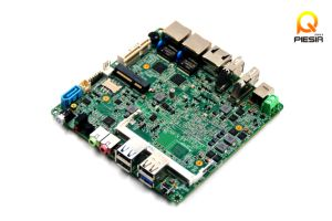 Baytrail Motherboard Fanless with LAN Quad Core Mainboard J1800, J1800 Nano Itx Motherboard OEM pictures & photos