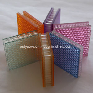 Transparent Polycarbonate Honeycomb Sheet 3.0-8.0 pictures & photos