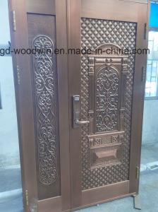 Woodwin High Quality Handwork Pure Copper Door Security Door pictures & photos