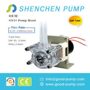 Sn25 AC Motor Drive OEM Mini Peristaltic Pump pictures & photos