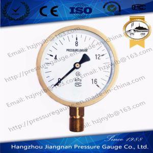 16kpa Capsule Pressure Gauge pictures & photos