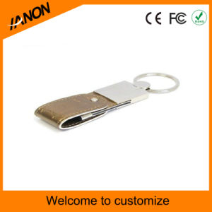 Wholesale Portable Leather USB Flash Drive with Printing Your Logo pictures & photos