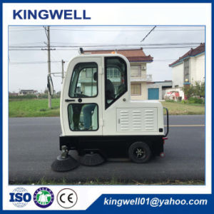 Auto Discharging Electric Street Road Sweeper for Sale (KW-1900F) pictures & photos