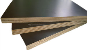 The Best Film Faced Plywood with Black Film, Hardwood Core, WBP Glue pictures & photos