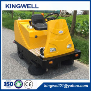 Electric Ride-on Road Sweeper for Sale (KW-1360) pictures & photos