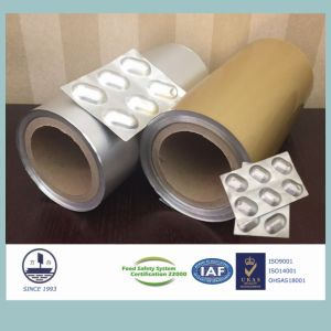 Cold-Stamping Molding Aluminum Foil for Packaging Capsules (Alloy 8021) pictures & photos