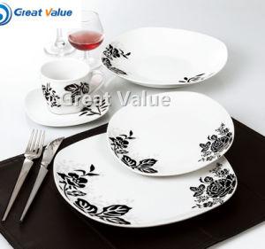 2017 Square Ceramic Dinner Plates Online pictures & photos