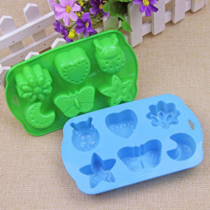 DIY FDA Food Grade Silicone Insect Shaped Cake Sheet/Ice Cube Tray/Soap Mold pictures & photos