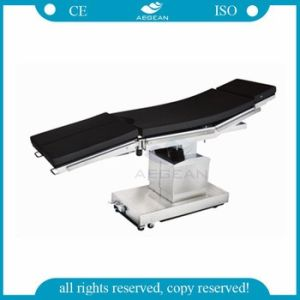 AG-Ot020 Adjustable Angle Electric Hydraulic Equipment Hospital Operation Table pictures & photos