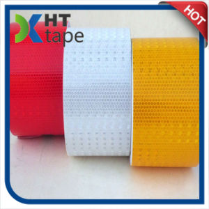 PVC Wear-Resisting Anti-Skid Colors Police Caution Reflective Tape pictures & photos