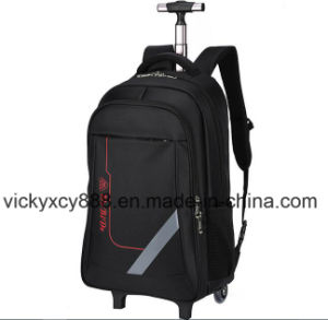 Wheeled Trolley Double Shoulder Business Travel Computer Notebook Bag (CY3642) pictures & photos