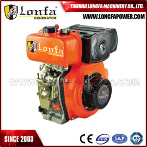 7HP/10HP Manual / Recoil Start Portable Diesel Engine pictures & photos
