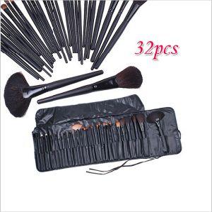 32 PCS/Set Classical Professional No Logo Makeup Brush Set pictures & photos