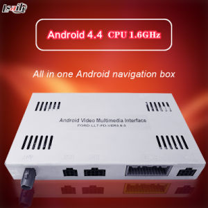 GPS Android 4.4 5.1 Navigation Box for Ford Sync 3 Focus Fiesta Kuga Mondeo Video Interface pictures & photos