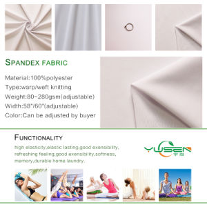 Wholesale Ripstop Nylon Spandex Fabric / Polyamide Grid Elastane Fabric/Ripstop Stretch Nylon 20d Fabric pictures & photos