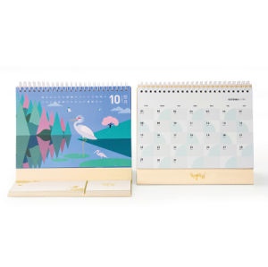 Offset Printing Full Color Custom Desk Calendar pictures & photos