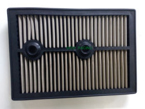 Replacement Panel Car Air Filter with Stainless Steel or Red pictures & photos