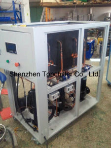 9kw-16kw Water Cooled Glycol Chiller with Copeland Hermetic Scroll Compressor pictures & photos