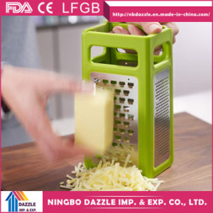 4 in 1 Multi-Functional Stainless Steel Fold Vegetable Flat Grater pictures & photos