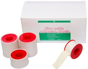Zinc Oxide Tape Cotton Plaster with Ce FDA Approval pictures & photos