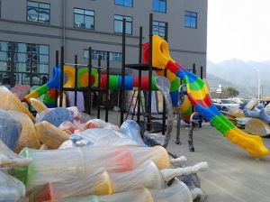 Climbing Wall and Tube Slide Funny Games for Sales pictures & photos