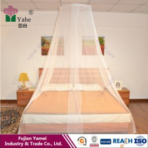 Round Long Lasting Insecticide Treated Double Bed Mosquito Net