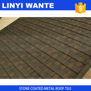 Light Weight Roofing Material Stone Coated Metal Roofing Shingle Tile pictures & photos