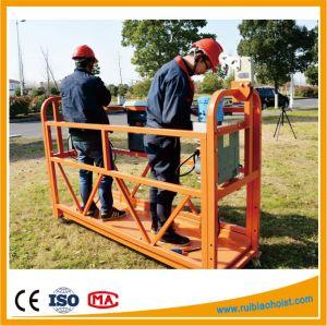 Zlp500/Zlp630/Zlp800/Zlp1000 Aluminum Suspended Platform, Galvanized Construction Gondola pictures & photos