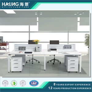 Fashion Office Partition with Metal Leg Workstation