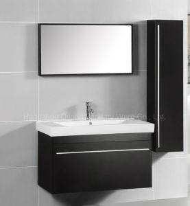 Big Door MDF Bathroom Cabinet with Side Vanity pictures & photos
