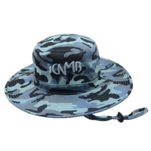 Custon Fashion Outdoor Fishing Bucket Hat Summer Hat Manufacturer pictures & photos