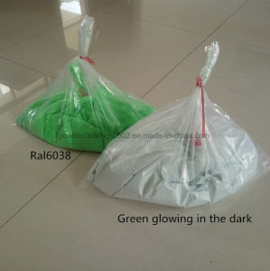 Green Glowing in the Dark Powder Paint pictures & photos